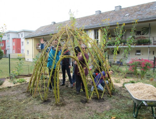fidibus-zentrum für familie I begegnung I kultur e.V.: Naturspielraum verschönern im Familienzentrum fidibus e.V.