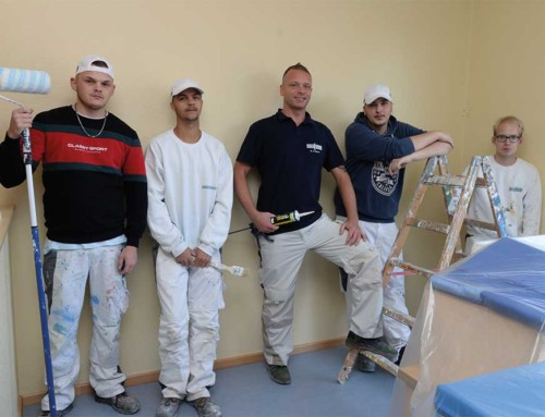 Kita Kernscheid: Malerarbeiten im Gruppenraum